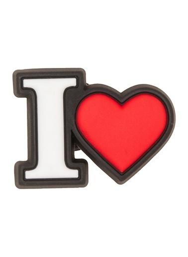Crocs Jibbitz I Heart 10007134 Renkli